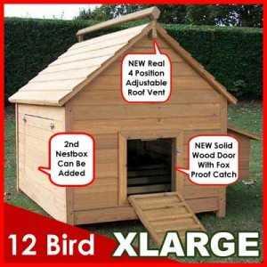 12 Bird Chicken Coop