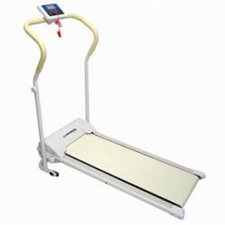 Power Plus Motorised Treadmill - WHITE