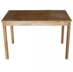 Solid Oak Rectangular Dining Table