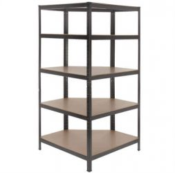 Heavy Duty 5 Tier Corner Shelving/Racking Unit