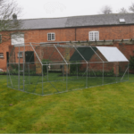 6M x 3M Walk Chicken Pen Run Outdoor Exercise Cage