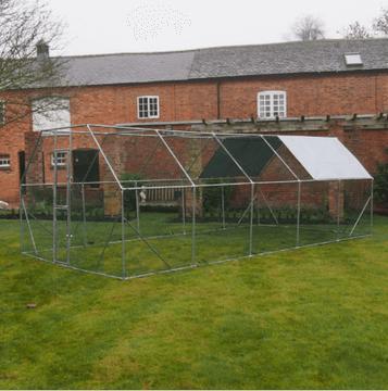 6M x 3M Walk Chicken Pen Run Outdoor Exercise Cage