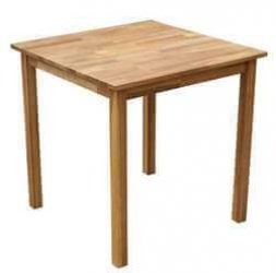 Solid Oak Square Dining Table