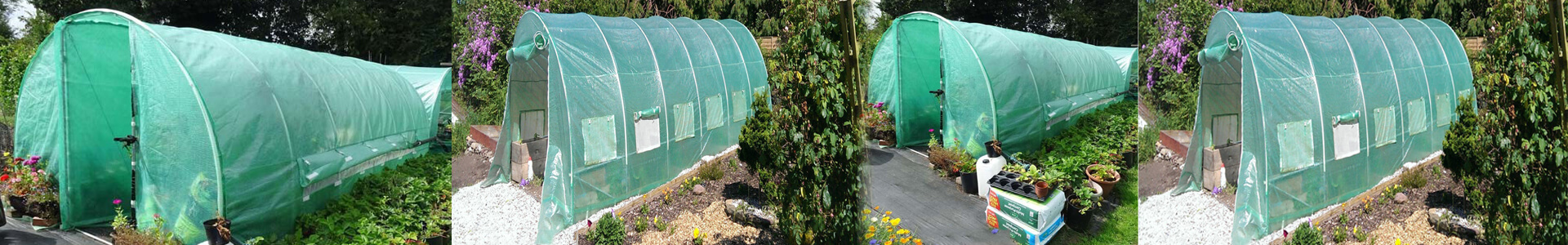 Cover Polytunnel 10FT x 7FT Zip Or Metal Door