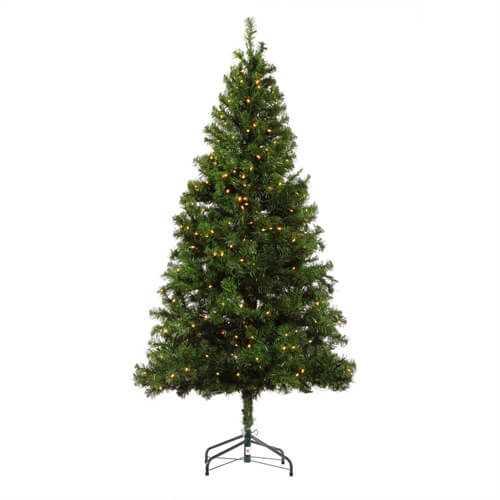 6ft Pre-lit Artificial Christmas Tree