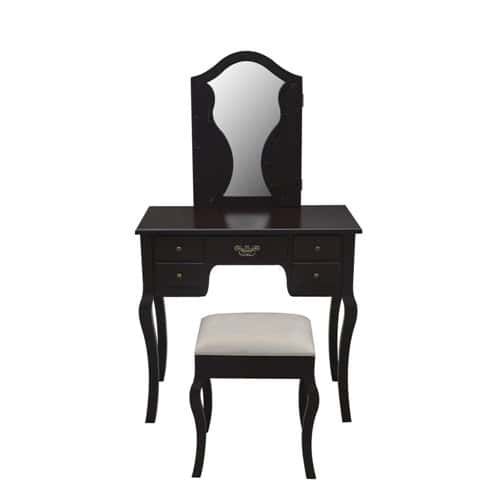 Venetian Dressing Table & Stool Set