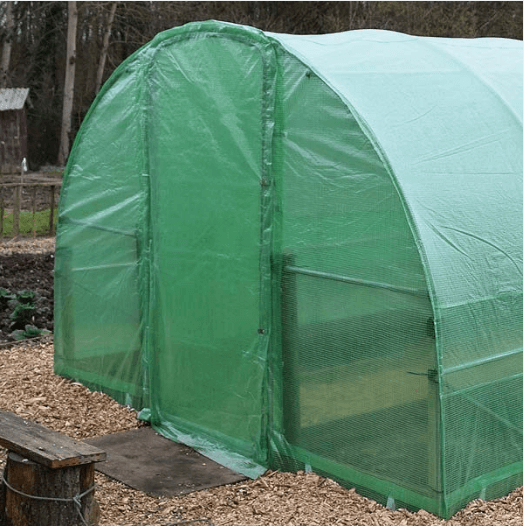 20 X 10FT Pro Polytunnel With Door