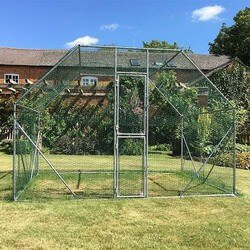 Walk In Pet Pen Run Outdoor Exercise Cage