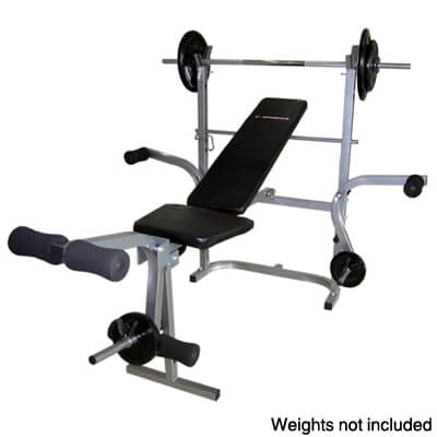 Foldable Home Gym Multi Use Weight Bench