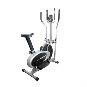 Fitness Pro 2-in-1 Elliptical Cross Trainer and Exercise Bike
