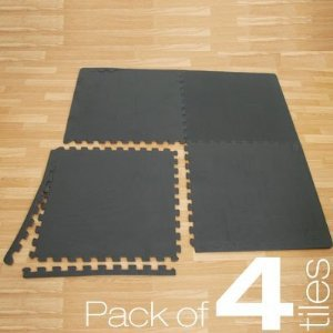 4 Interlocking Floor Tiles 16FT
