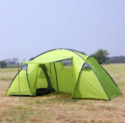 North Gear 6 Man Waterproof Tent Green