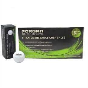 16 Titanium Golf Balls
