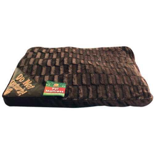 Large Washable Black Dog Bed Mattress