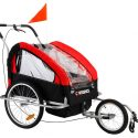 2 in 1 Baby Bike Trailer and Stroller
