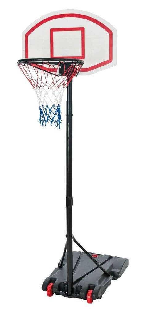 Adjustable Basketball Stand & Hoop Set