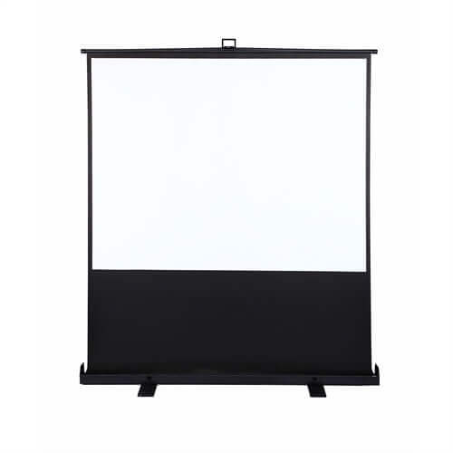 "80"" HDTV 4:3 Portable Projector Screen"
