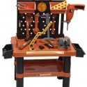 Childresn 54PC Tool Bench Play Set Work Shop Tools