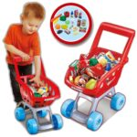19PC Kids Children Shopping Trolley Kart