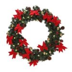 75cm Christmas Wreath With Lights