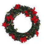 60cm Christmas Wreath