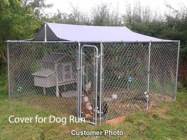 Top Cover for 3m x 3m Walk In Dog Kennel Pen Run Outdoor Exercise Cage