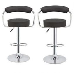2 x Kitchen M1 Adjustable Stools