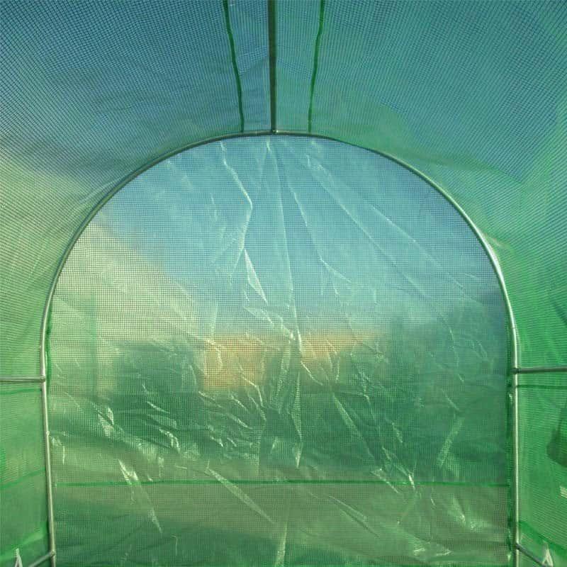 Spare Cover Polytunnel 10FT x 7FT Zip Or Metal Door