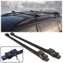 Universal Strong Lockable Anti Theft Roof Bar