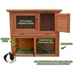 Rabbit Guinea Pig Hutch Houses