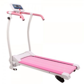 Power Track Motorised Treadmill Pink