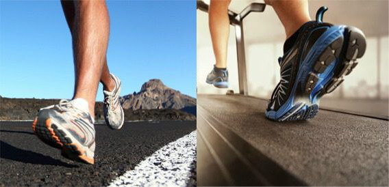 Treadmill vs Outdoor Walking