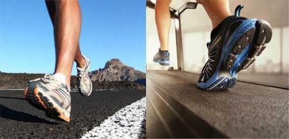 Treadmill vs Outdoor Walking