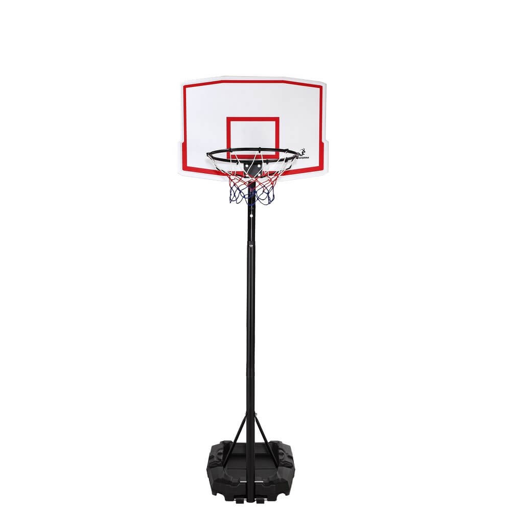 Outdoor Adjustable Basketball Stand & Hoop Set