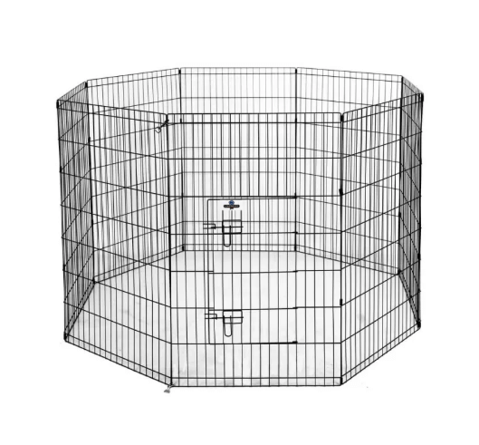 Pet Metal Dog Playpen – 2X Large