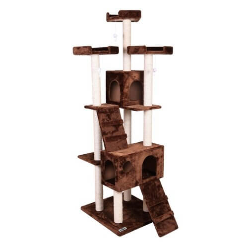 Pet Presidential Cat Tree – Brown