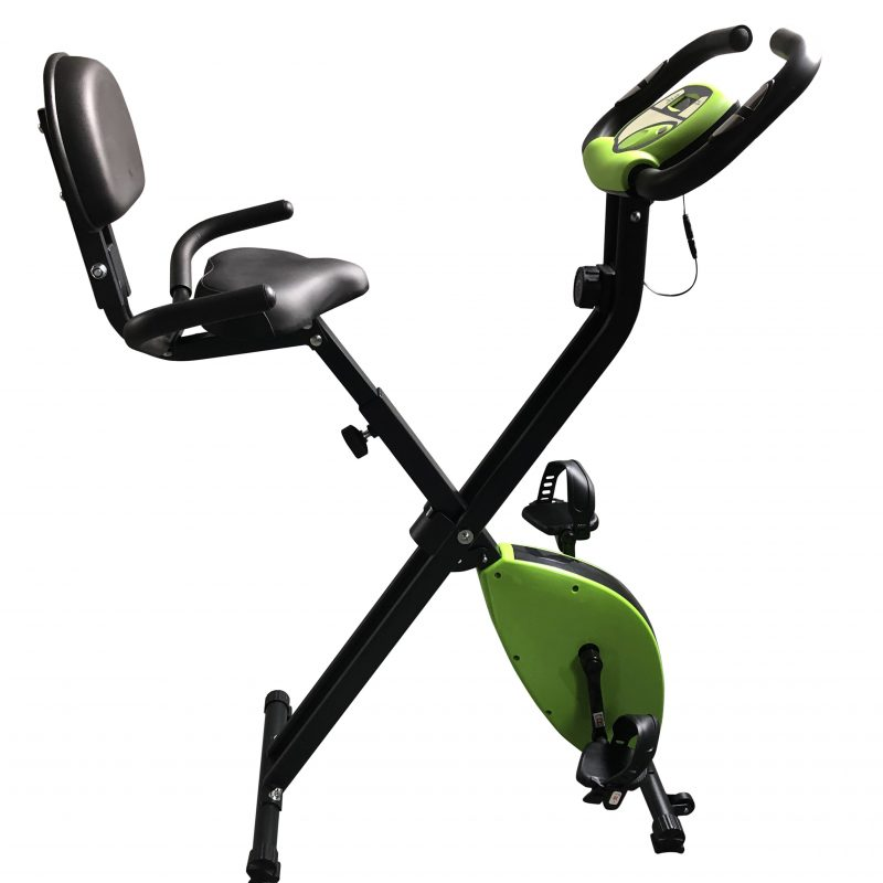 X-Bike 2 Folding Recumbent Upright Exercise Bike