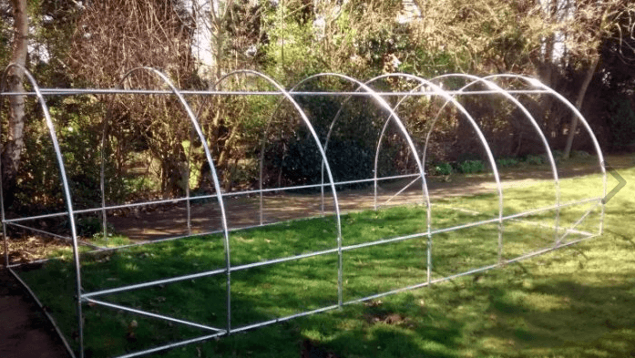 20 X 10FT Metal Polytunnel Frame