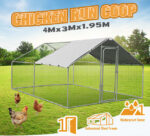 13 X 10FT Hen Run Pitched Free Roof Cover-PRE-ORDER
